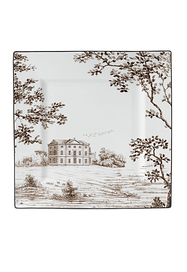 Wedgwood China Parkland Accent Plate Square 10""