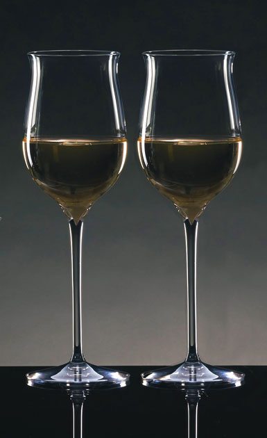 Waterford Crystal, Elegance Riesling Crystal Wine Glass Pair
