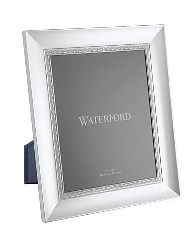 "Waterford Lismore Lace Silver 8 x 10"" Picture Frame"