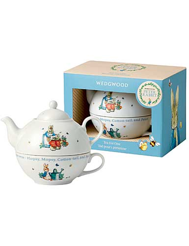 Wedgwood China Peter Rabbit Tea For One
