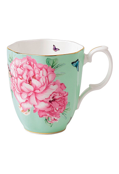 Royal Albert Friendship Vintage Mug 13.5 Oz Green