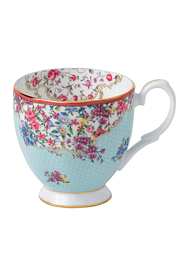 Royal Albert Candy Vintage Mug 10.5 Oz Sitting Pretty