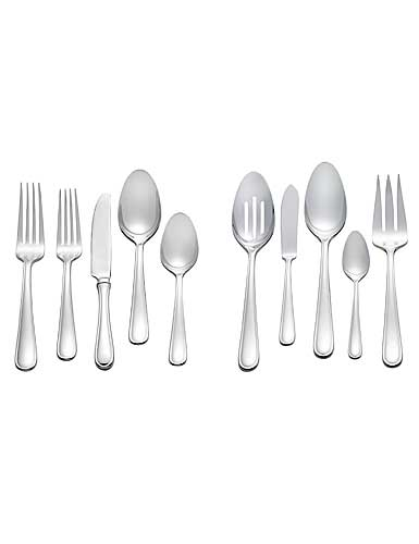 Vera Wang Wedgwood Cushion Stainless Steel 45 Piece Set