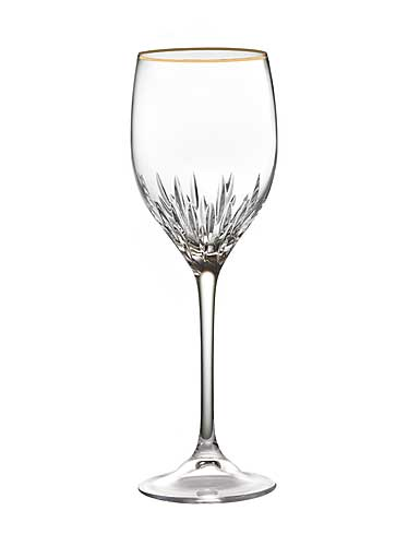 Vera Wang Wedgwood, Duchesse Gold Crystal Wine, Single