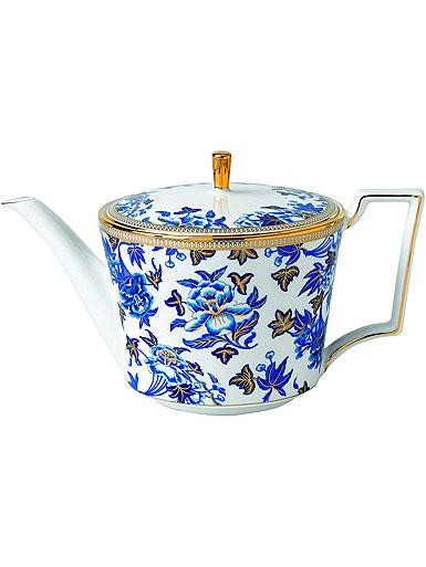 Wedgwood China Hibiscus Teapot