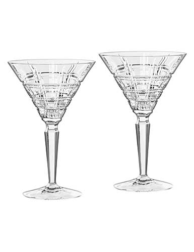 Marquis by Waterford Crystal, Crosby Crystal Martini, Pair