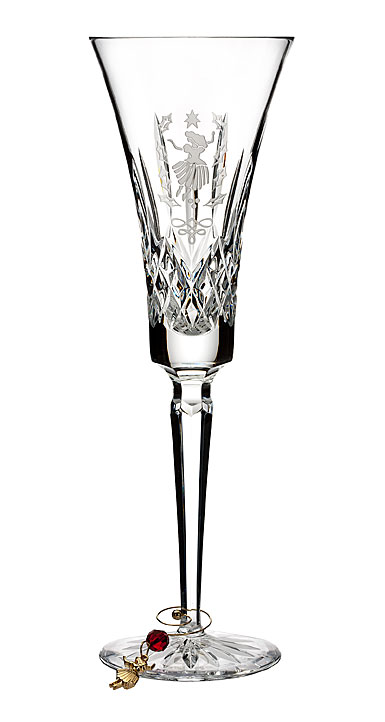 Waterford Crystal 12 Days Collection Lismore Nine Ladies Flute, Single