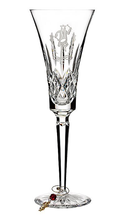 Waterford Crystal 2018 12 Days Collection Lismore Twelve Drummers Flute, Single