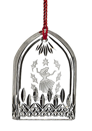 Waterford Crystal, 12 Days of Christmas Lismore Nine Ladies Ornament