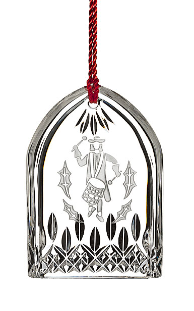 Waterford Crystal, 2018 12 Days of Christmas Lismore Twelve Drummers Ornament
