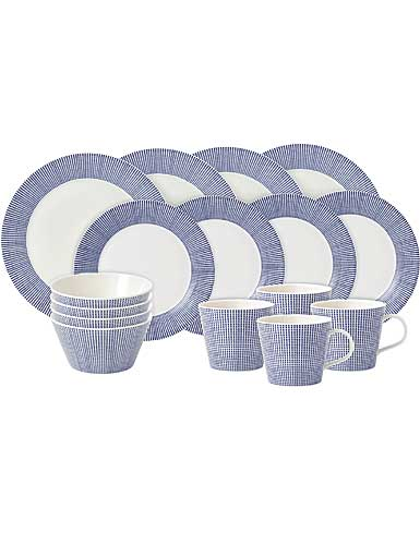 Royal Doulton Pacific 16 Piece Set Dots
