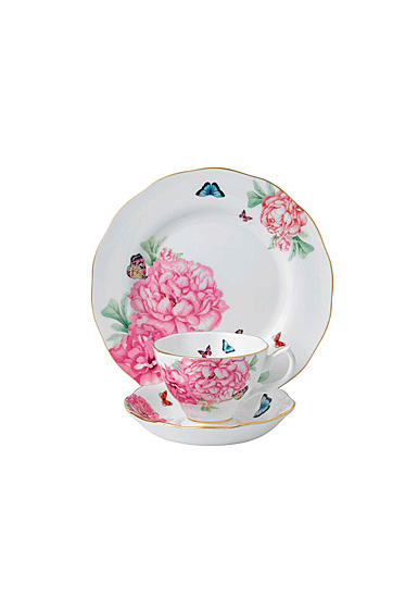 "Royal Albert Friendship Teacup, Saucer and 8"" Plate Set"