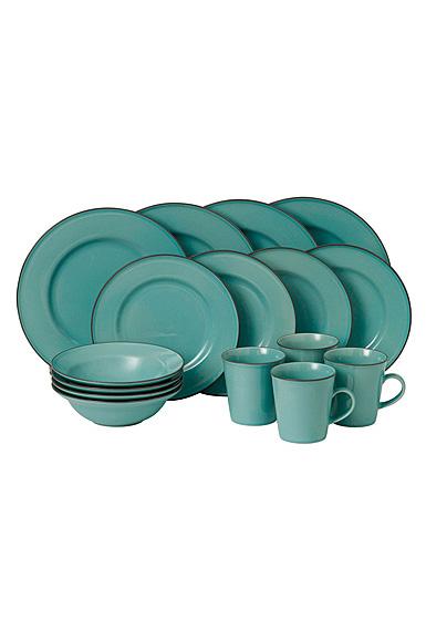 Royal Doulton Gordon Ramsay Union Street Cafe Blue 16-Piece Set