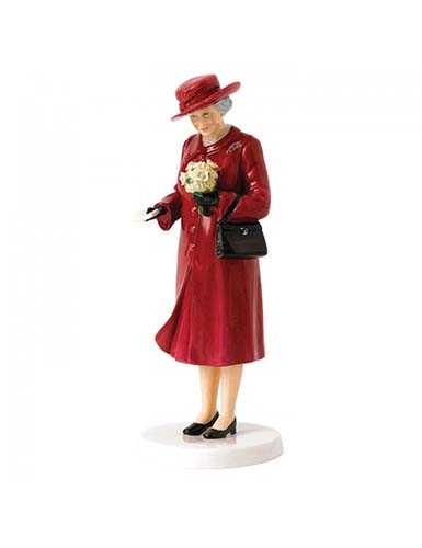 Royal Doulton Her Majesty Birthday Celebration, Limited Edition of 2000