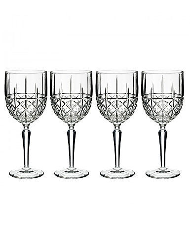 Marquis by Waterford, Brady White Wine, Set of Four