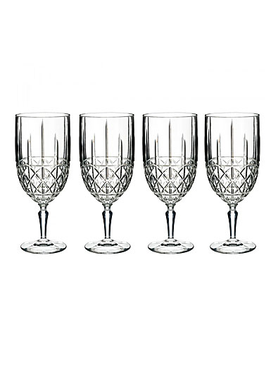 Marquis by Waterford Crystal, Brady Crystal Iced Beverage, Set of Four