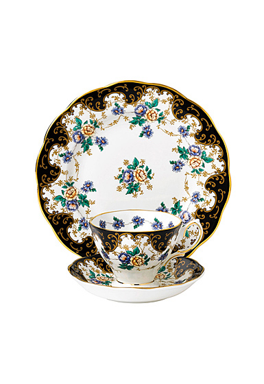 "Royal Albert 100 Years 1910 Teacup, Saucer and 8"" Plate Set Duchess"