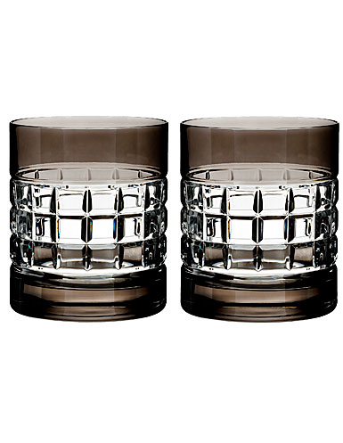 Waterford Crystal, London Smoke Crystal DOF Tumbler, Pair