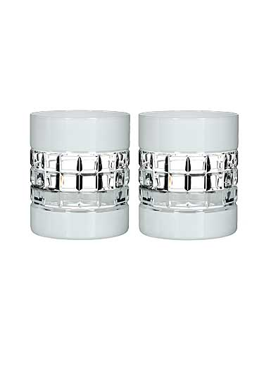 Waterford Crystal, London Crystal DOF Tumbler Pairs, White