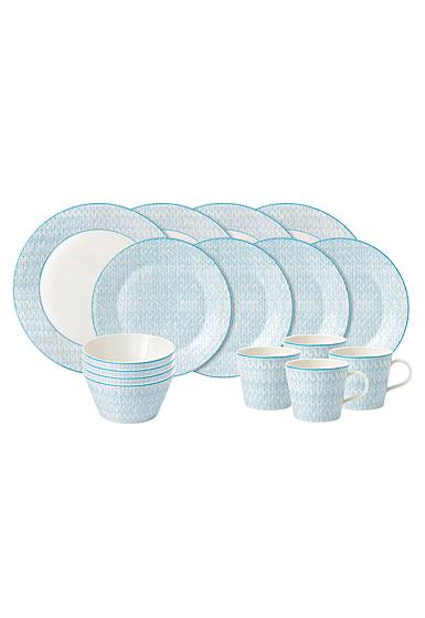Royal Doulton Pastels 16-Piece Set Blue