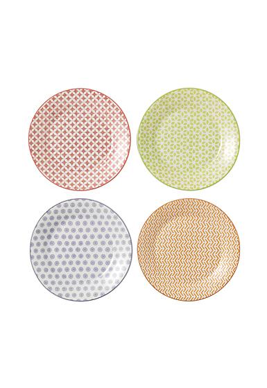 "Royal Doulton Pastels Accent Plates 6.3"" Set of 4 Mixed Patterns"