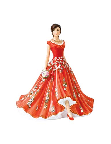 Royal Doulton China Pretty Ladies 2017 Exclusive Figure, Catherine May