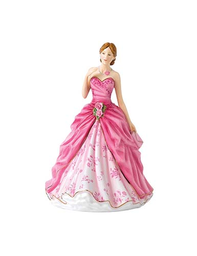 Royal Doulton China Pretty Ladies Petite of the Year, Grace