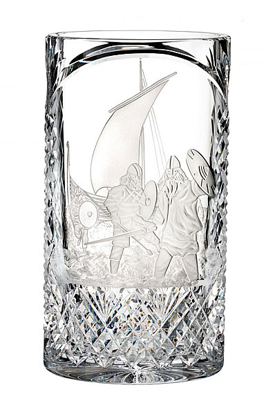 "Waterford House of Waterford Strongbow and the Battle of Waterford 12"" Vase, Limited Edition of 60"