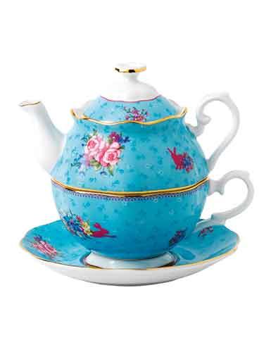Royal Albert China Candy Hunny Bunny Tea For One
