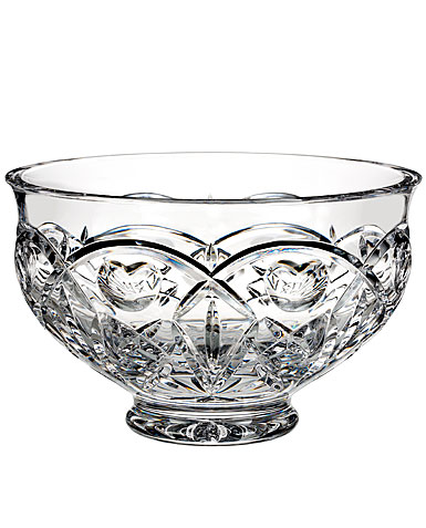 "Waterford Crystal, House of Waterford Tom Brennan's Ireland 10"" Crystal Bowl"