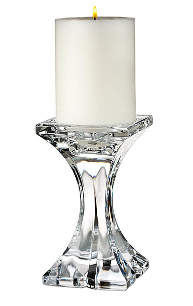 "Marquis by Waterford Crystal, Verano Pillar 6"" Crystal Candlestick"
