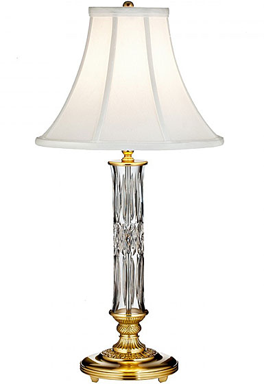 "Waterford Crystal, Clonmore 23"" Table Crystal Lamp"