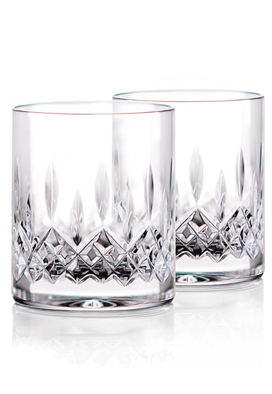 Waterford Crystal Lismore Straight Sided DOF Glasses, Pair