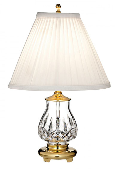 "Waterford Crystal, Lismore 14 1/2"" Accent Crystal Lamp"