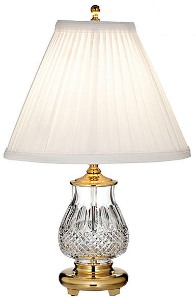 "Waterford Crystal, Colleen 14 1/2"" Accent Crystal Lamp"