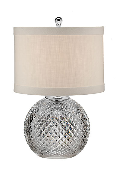 "Waterford Crystal, Alana 18 1/2"" Accent Crystal Lamp"