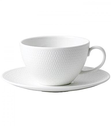 Wedgwood Gio Teacup and Saucer Set