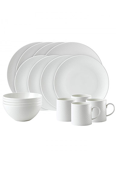 Wedgwood China Gio 16 Piece Dinnerware Set