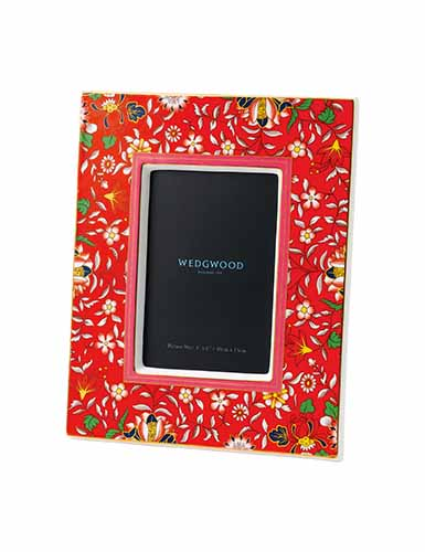 Wedgwood Wonderlust Crimson Jewel 4x6 Frame