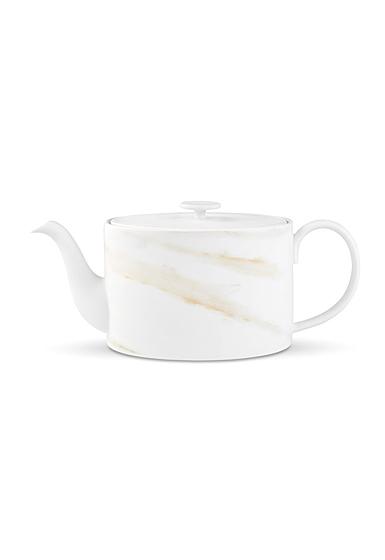 Vera Wang Wedgwood Vera Venato Imperial Teapot 33.8oz.