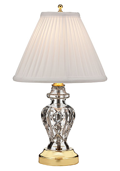 "Waterford Crystal, Glengariff 17 1/2"" Accent Crystal Lamp"