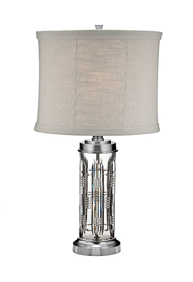 "Waterford Crystal, Dungarvan 28"" Table Crystal Lamp"