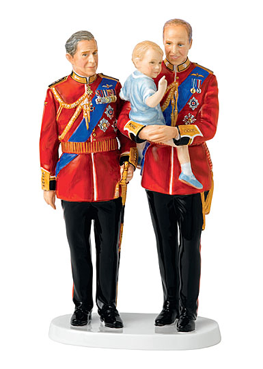Royal Doulton China Pretty Ladies Future Kings, Limited Edition