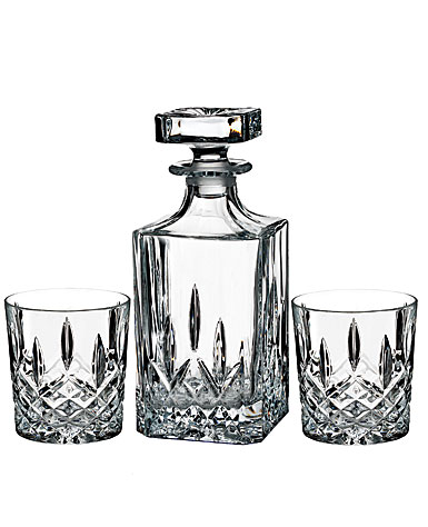 Marquis by Waterford, Markham Square Decanter and DOF Tumbler Set