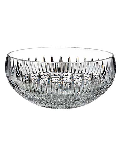 "Waterford Crystal, Lismore Diamond Encore 12"" Crystal Bowl"
