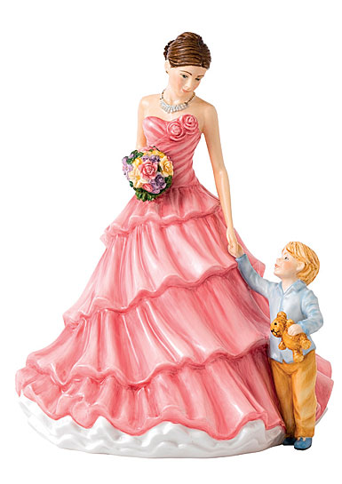 Royal Doulton China Pretty Ladies Loving Moments, Mother's Day Figure of the Year 2018