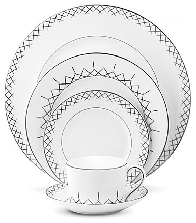Waterford China Lismore Pops Five Piece Place Setting
