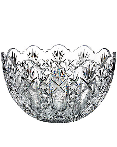 """Waterford Crystal, House of Waterford Maritana 10"""" Crystal Bowl, Limited Edition of 200"""