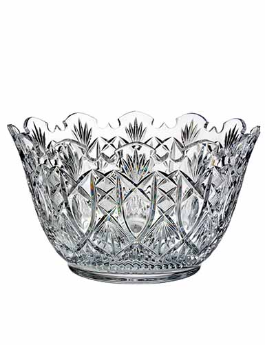 """Waterford Crystal, House of Waterford Maritana 12"""" Crystal Bowl, Limited Edition of 200"""