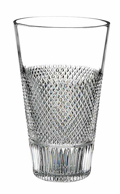 "Waterford Crystal, Diamond Line 8"" Crystal Vase"